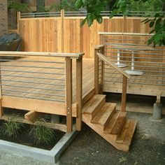 contemporary deck by r.environs inc