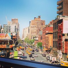 High Line view meat peaking str New York