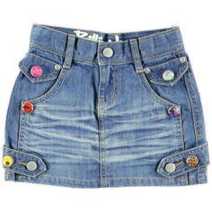 Billie Jeans spijkerrokje + clickies