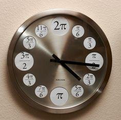 Wall Decored Diy Classroom Fun 29 Ideas For 2019 Unusual Clocks, Cool Clocks, Math Teacher, Teaching Math, Math Clock, Math Major, Unusual Watches, Math Jokes, Calculus Jokes
