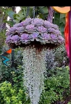 72 Great Hanging Garden Ideas For Your Garden Inspiration - Bepflanzung Garden Art, Garden Plants, Indoor Plants, House Plants, Diy Garden, Patio Plants, Garden Soil, Garden Mesh, China Garden