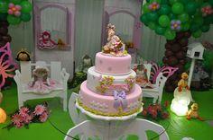 bolo casa de boneca