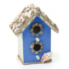 Nicole™ Crafts Mini Seashore Birdhouse