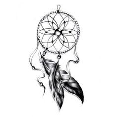 Tatouages temporaires attrape rêve