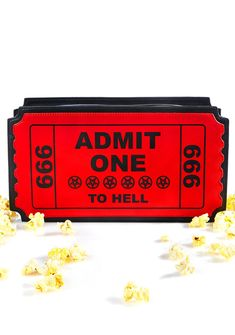 Current Mood Ticket To Hell Bag cuz ya got a front row seat to the shit show…