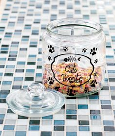 Glass Pet Treat Jars|LTD Commodities