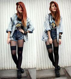 #grunge #fashion back to the 90s anyone?!