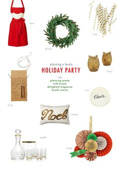 Christmas Party Planning