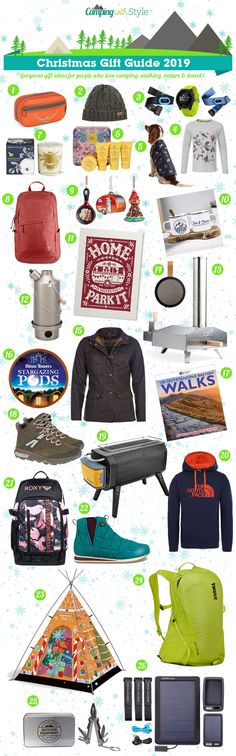 🎄 Camping Christmas Gift Guide 2019 - 26 Gift Ideas For Campers