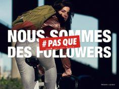 Nous sommes #PASQUE des followers : http://www.pas-que.com/