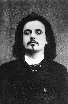 Portrait d'Alfred Jarry - Atelier Nadar - 1896.