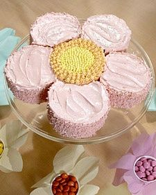 Flower cake for girls b-day