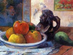 by Paul Gauguin in oil on canvas, done in . Now in a private collection. Find a fine art print of this Paul Gauguin painting. Henri Fantin Latour, Paul Gauguin, Paul Cézanne, Painting & Drawing, Painting Prints, Art Prints, Painting Canvas, Painting Videos, Henri Matisse
