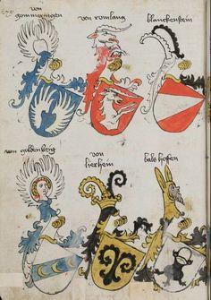 Wappenbuch des St. Galler Abtes Ulrich Rösch Heidelberg · 15. Jahrhundert Cod. Sang. 1084 Folio 279