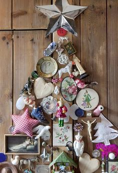 "Amazing way to display those ""forever"" ornaments!"