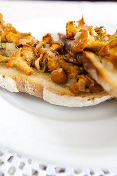 Smażone kurki Cheesesteak, Bruschetta, Cooking, Healthy, Ethnic Recipes, Kitchen, Food, Table, Kitchens