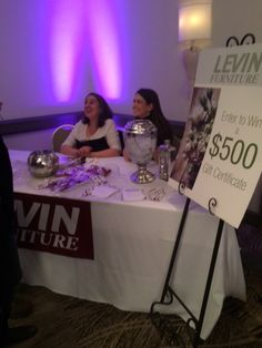 levin furniture and levin mattress at the bridal expo this spring - Levin Furniture