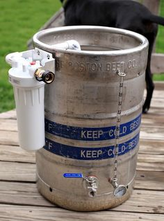 Home Depot DIY Water Filter - Home Brew Forums - Collecting up my prior pins here for re-casting on new boards. Home Brewery, Home Brewing Beer, Homebrew Recipes, Beer Recipes, Home Depot, Brew Your Own Beer, Home Brewing Equipment, Brew Pub, How To Make Beer