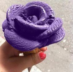 Purple Rose Ice Cream