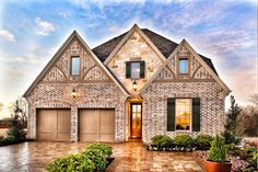 Gorgeous #newhome by Darling Homes located in Grapevine, Texas. #homedesign #homeexterior
