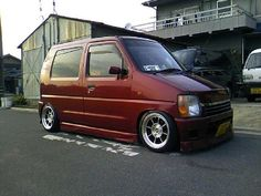 Anything with an engine and wheels Most of these picture aren't mine. Suzuki Wagon R, Kei Car, Rims For Cars, Mini Trucks, City Car, Japanese Cars, Small Cars, Custom Cars, Cars And Motorcycles