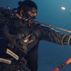 Samurai Art, Samurai Warrior, Ninja Art, Cinematic Trailer, Ghost Of Tsushima, Video Game News, Poster S, Tsunami, Warriors