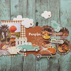 Agnieszka - Simple Stories - Pumpkin Spice
