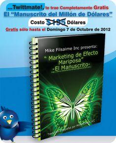 Marketing de Efecto Mariposa.  twitter, social media, trafico web