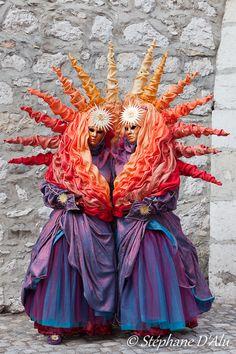 Carnaval Venetien d'Annecy, France