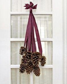 Sehe dir das Foto von Pusteblume mit dem Titel Schöne Weihnachtsdeko für die Einganstür und andere inspirierende Bilder auf Spaaz.de an.