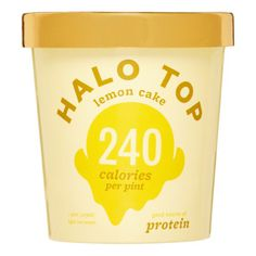 Halo Top Ice Cream Ice cream packaging and Packaging design