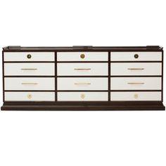 1stdibs - Tommi Parzinger 12 Drawer Dresser explore items from 1,700  global dealers at 1stdibs.com