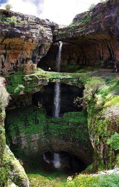 Baatara Gorge Waterfall, Lebanon
