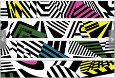 Pattern Dazzle Camouflage, Camouflage Patterns, Ww1 Art, Razzle Dazzle, Optical Illusions, Textures Patterns, Art Lessons, Light In The Dark, Graphic Design