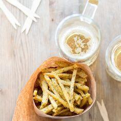 Chips di farina di ceci e rosmarino