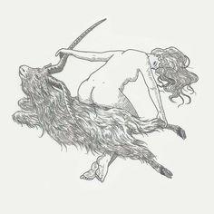 Tattoo flash  Witch from Black Sabbath by Flip Díaz @alltattoosarenoir