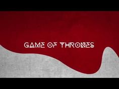 Game of Thrones Motion Graphics Project