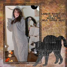 """Max - from """"Where The Wild Things Are"""" - I didn't have time to sew this, but it would have been an easy project and I hope it inspires someone else"""