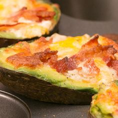 What's even better than avocado toast? Baked Avocado Eggs! ...