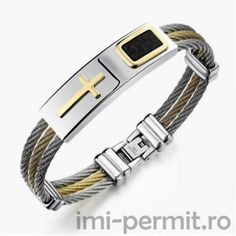 [Visit to Buy] Jiayiqi Fashion Men Bracelet Cross Stainless Steel 3 Rows Wire Chain Cuff Bangles for Men Jewelry Punk Silver Gold Color Gifts Bracelets For Men, Bangle Bracelets, Bangles, Bracelet Men, Cross Bracelets, Spike Bracelet, Simple Bracelets, Braided Bracelets, Leather Bracelets