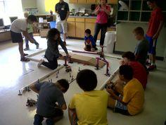 Robot Obstacle Course in Plano, Texas ROBOTS-4-U #Robotics program
