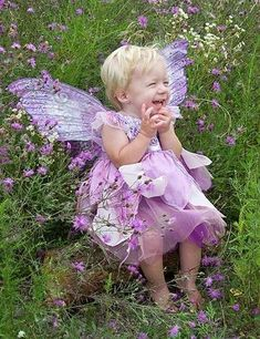 """~*~ Lavender Fairy.."""" Laugh """" ~*~……LITTLE ANGEL IN HER PURPLE DRESS AND WINGS……SHE FLITS FROM CLOUD TO CLOUD…..SHE OFTEN VISITS ME DOWN AT MY PURPLE PETUNIA-PEONE PLOT………ccp"""