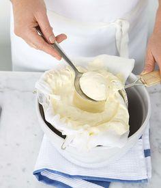 Australian Gourmet Traveller recipe for mascarpone.