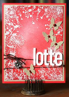 For Lotte  by Elin A, via Flickr