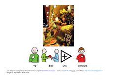YO                         DOY                     LAS                        GRACIASAutor pictogramas: Sergio Palao Proce... Shopping, Tents, Author