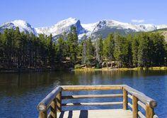 Sprague Lake, Rocky Mountain National Park, Estes Park, CO. My favorite place on Earth.