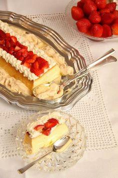 Baking Recipes, Cake Recipes, Dessert Recipes, Norwegian Food, Scandinavian Food, Pudding Desserts, Christmas Desserts, Yummy Cakes, No Bake Cake