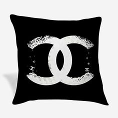 Throw Pillow Covers, Throw Pillows, Channel Logo, Chanel Art, Best Gifts, Symbols, Letters, Blanket, Amazon