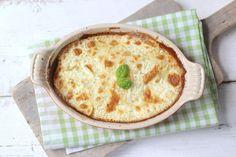 Ovenschotel met vis en aardappel