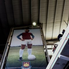 Bobby Moore photo at West Ham - pic taken from the Bobby Moore Lower stand